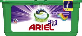 Ariel kapsułki do prania 28szt. kolor