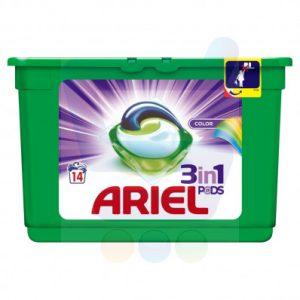 Ariel kapsułki do prania 35szt kolor