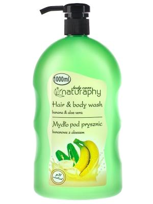 Blux Mydło pod prysznic 1L banan z aloesem(6)