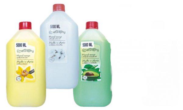 Blux mydło w płynie 5L  z olejkiem z bawełny