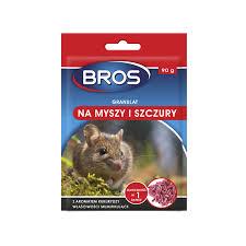 Bros granulat na myszy 140g