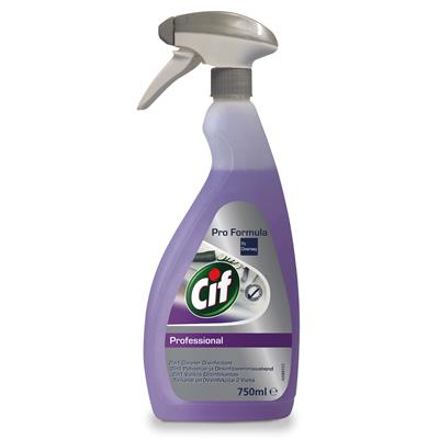 Cif Professional 2in1 Cleaner Disinfecant 750ml