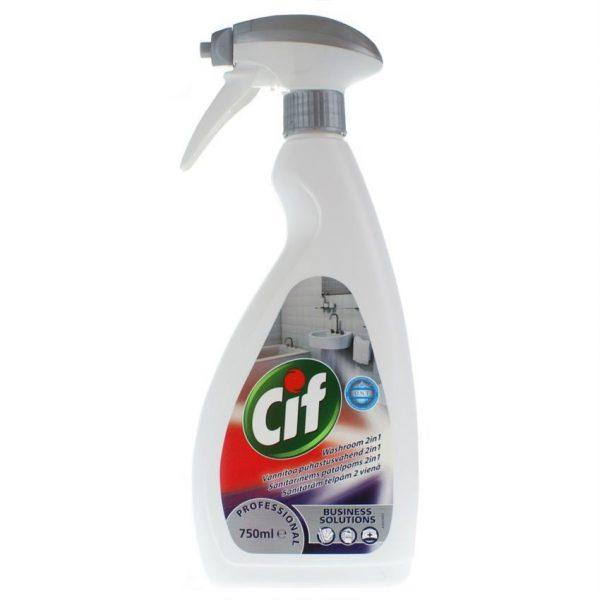 Cif Professional Washroom 2in1 750ml (6)