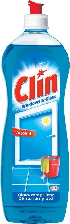 Clin płyn do ram i okien 750ml (10)