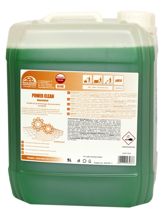 Dolphin POWER CLEAN 5L ( mycie gruntowne)