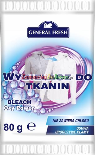 General Fresh wybielacz do tkanin 80g (8)