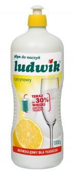 Ludwik płyn do naczyń 1L (12) cytryna