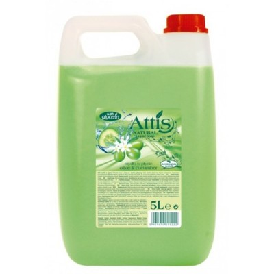 Mydło Attis oliwka-ogórek 5L