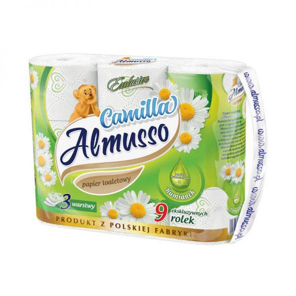 Papier toaletowy Camilla celuloza 9szt (6)