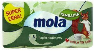 Papier toaletowy Mola familijny 8szt (8)