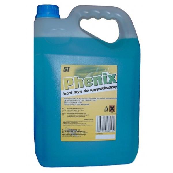 Płyn do spryskiwaczy letni Phenix 5L
