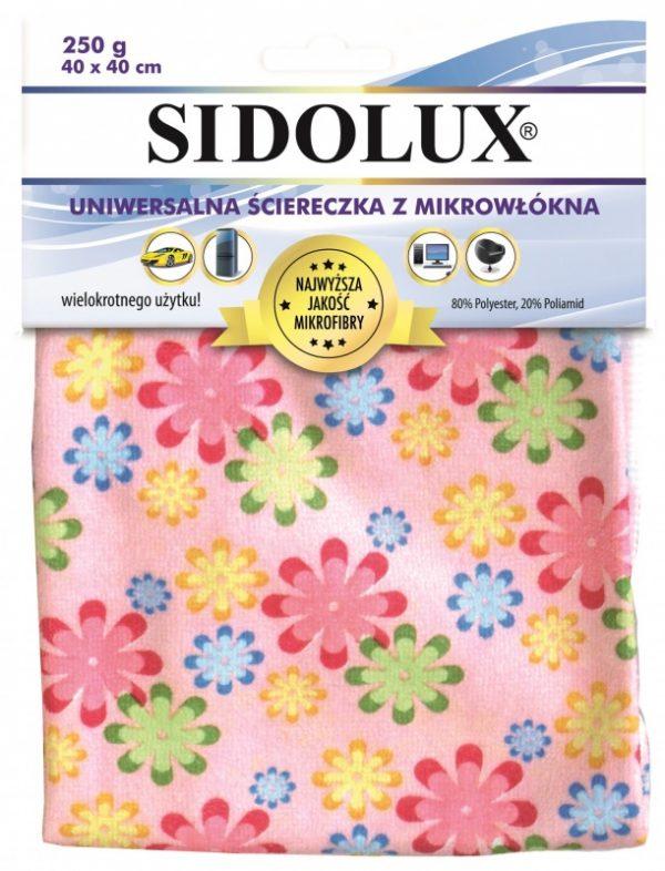 Ścierka z mikrofazy SIDOLUX
