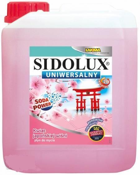 Sidolux płyn uniwersalny 5L Japońska Wiśnia