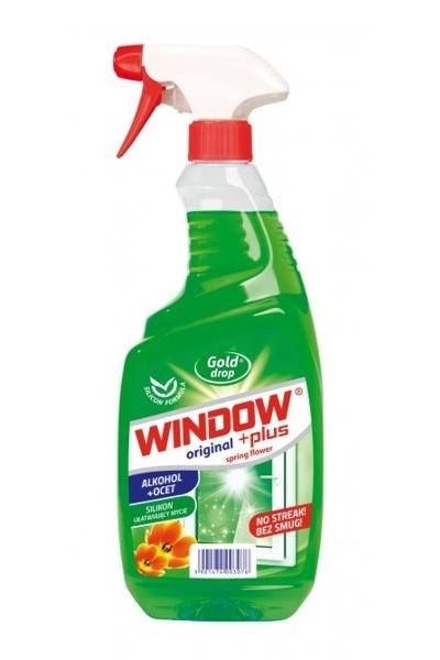 Window płyn do szyb 750ml rozpylacz zielony (12)