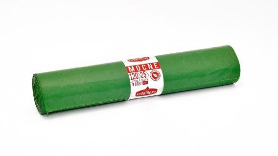 Worki LDPE 120L 25 szt zielone Sipeko (15)