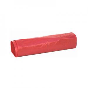 Worki LDPE 60L 25szt czerwone