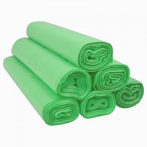 Worki LDPE 60L 25szt zielone Sipeko (30)